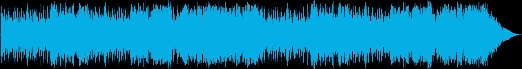シミュレーションRPGの戦況報告シーンの再生済みの波形