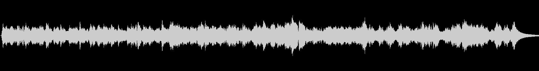 アベマリア アンティーオルゴールの未再生の波形