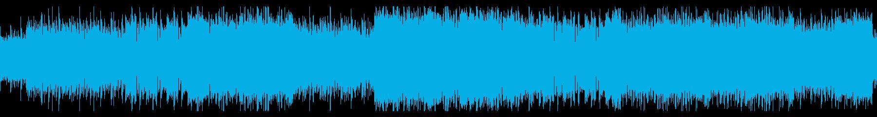 キャロルオブザベルのDnB風アレンジの再生済みの波形