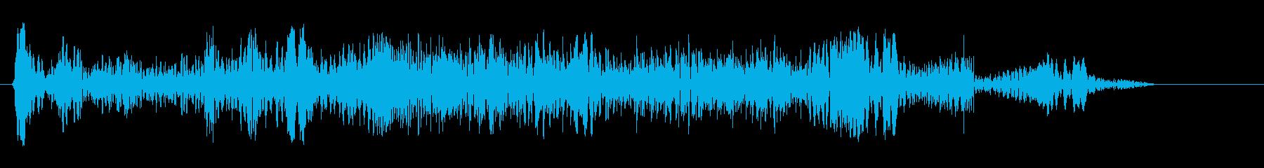 パウワウワァーウァ(不思議な反響音です)の再生済みの波形