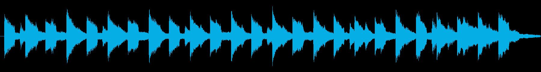 ゼンマイでゆっくり動くブリキのおもちゃ風の再生済みの波形
