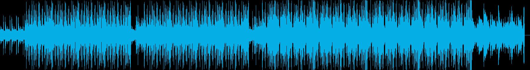 Lo-FiニューヨークHIPHOPの再生済みの波形