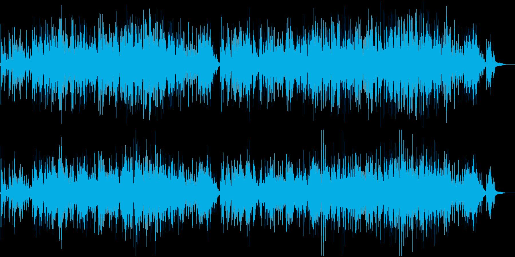 青春のイメージでJpopのようなピアノの再生済みの波形