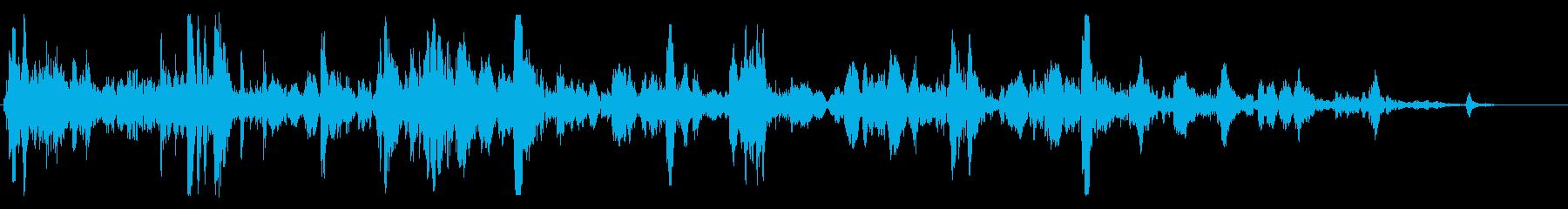 シンク:プルストッパーとドレン、ヘ...の再生済みの波形