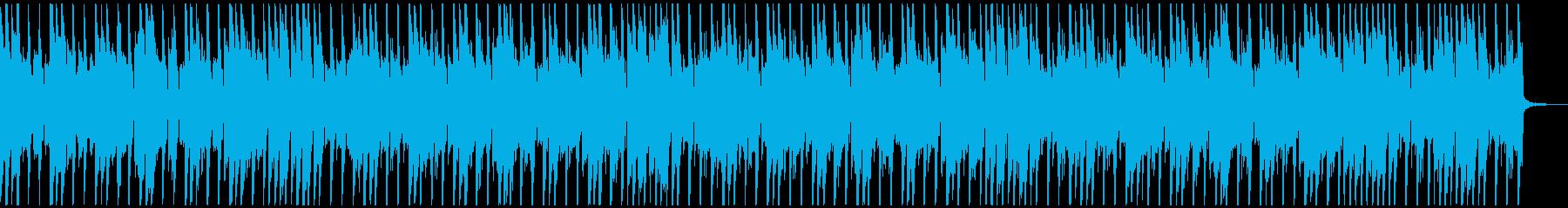 子供向け動画にお勧め!楽しいシンプル曲の再生済みの波形