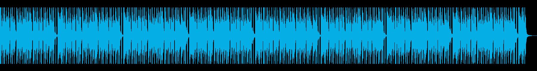 軽快なリズムの踊れるギターファンクの再生済みの波形