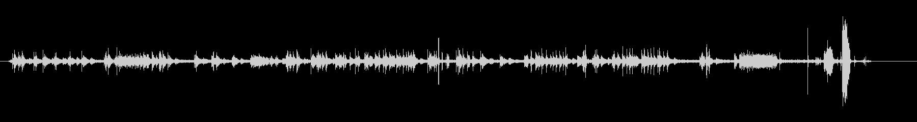 テレックス-ライティング-オフィスの未再生の波形