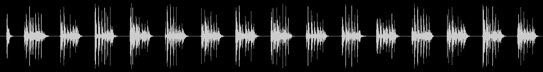 SCI FI マシンガン02の未再生の波形