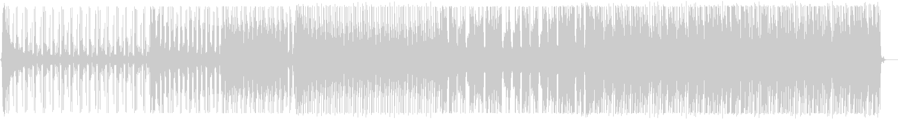 爽やかなトロピカルハウス_No586_2の未再生の波形