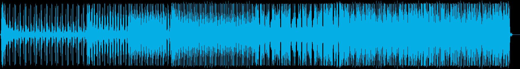 爽やかなトロピカルハウス_No586_2の再生済みの波形