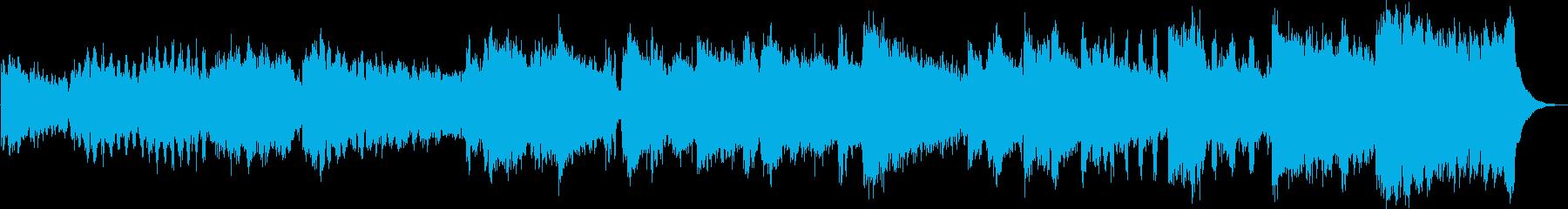 ハッピーバースデーソングのオケアレンジの再生済みの波形