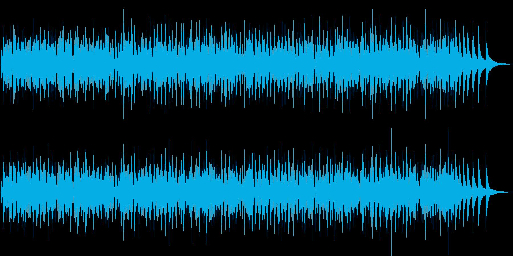 蛍の光/おしゃれなボサノバ・ピアノトリオの再生済みの波形