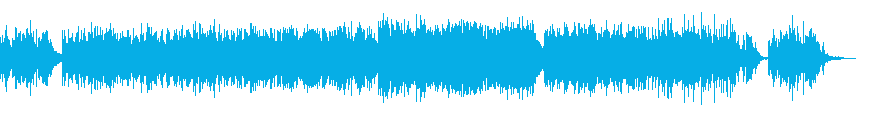 ひらひらと舞うような切ないピアノ曲の再生済みの波形