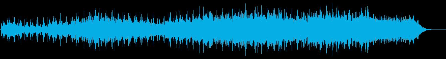 冷たさを感じるミステリアスなBGMの再生済みの波形