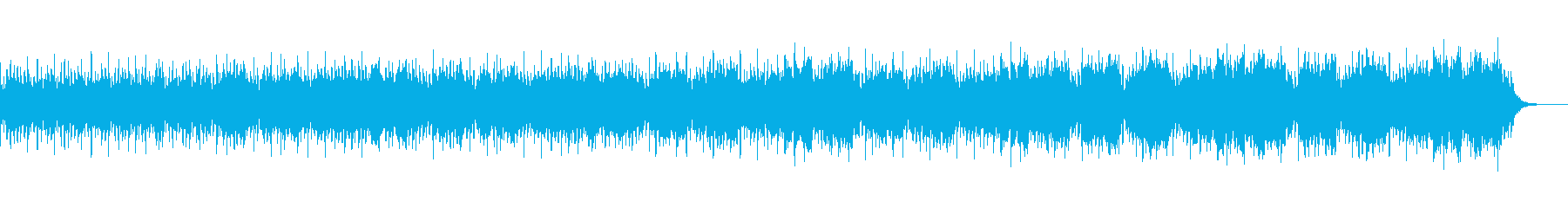 可愛い宝石の様な音楽の再生済みの波形