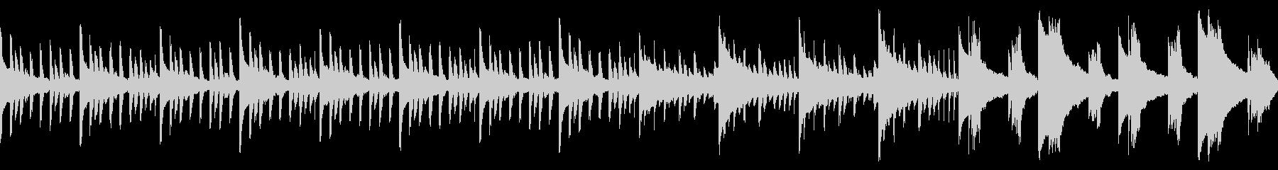 ホラーな怖い雰囲気のBGM(ループ仕様)の未再生の波形