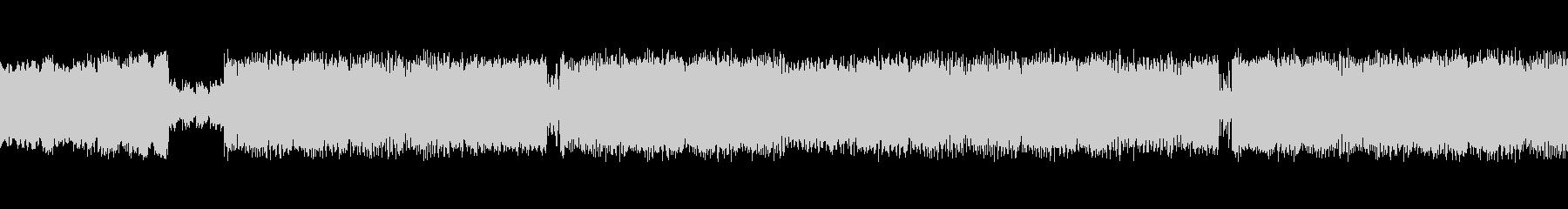 明るい和風EDMの未再生の波形