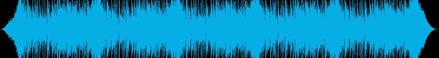 踊れる、緩めのトラップミュージック。の再生済みの波形