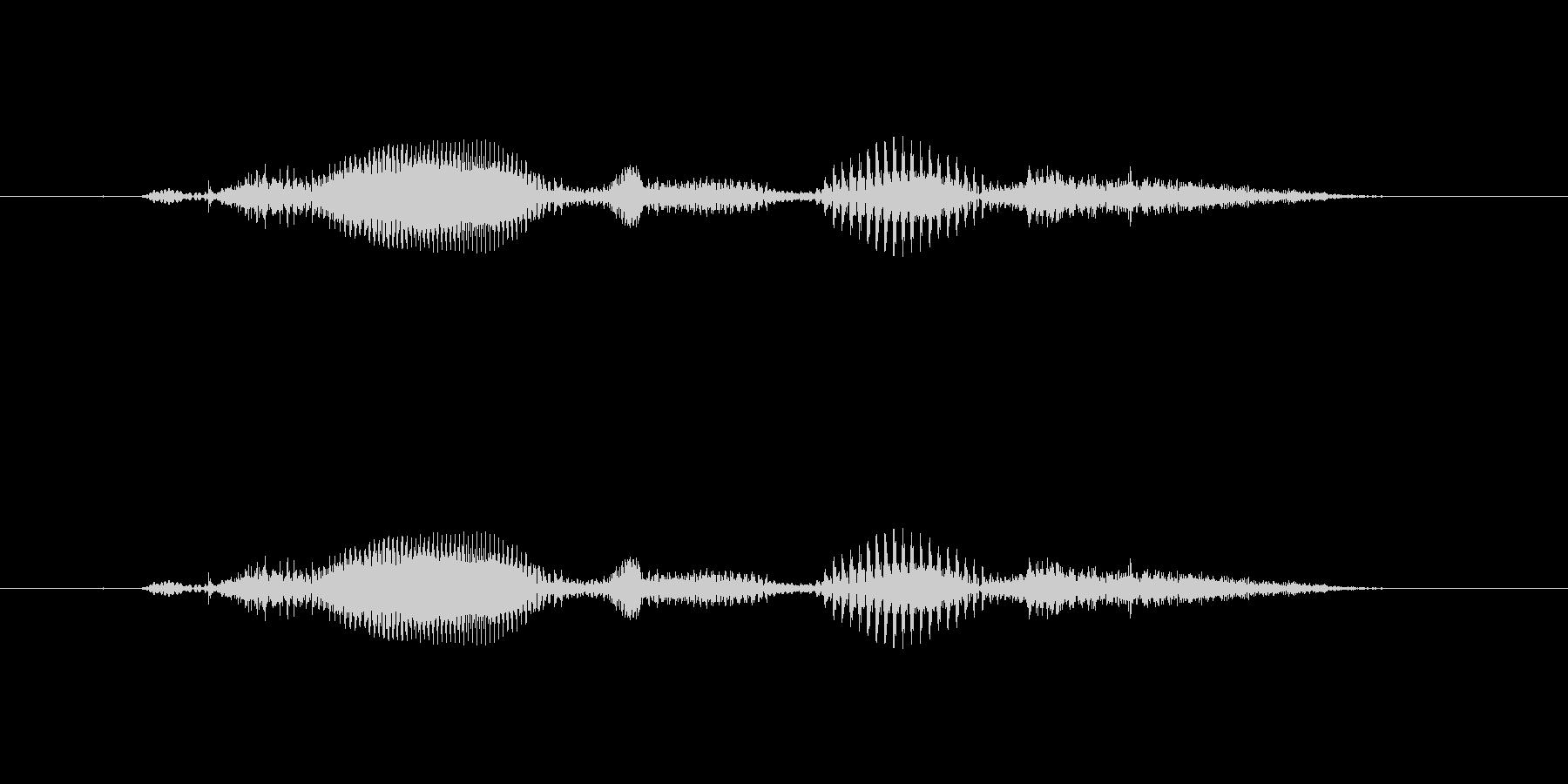【時報・時間】10時です の未再生の波形