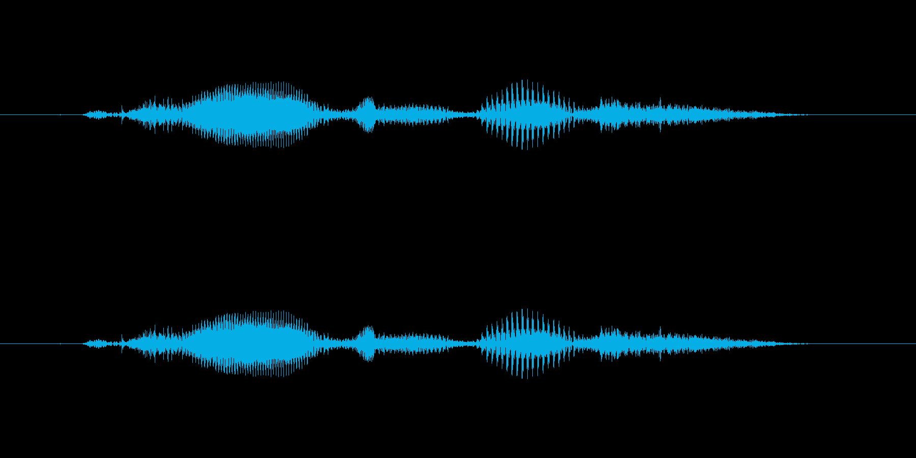 【時報・時間】10時です の再生済みの波形