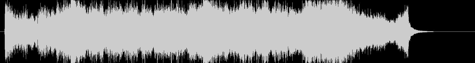 壮大、感動のオーケストラOPハーフaの未再生の波形