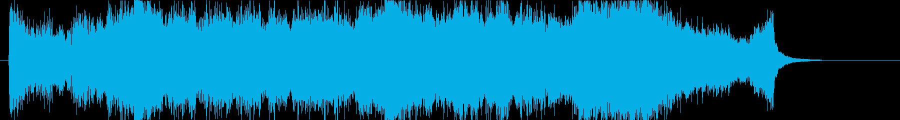 壮大、感動のオーケストラOPハーフaの再生済みの波形