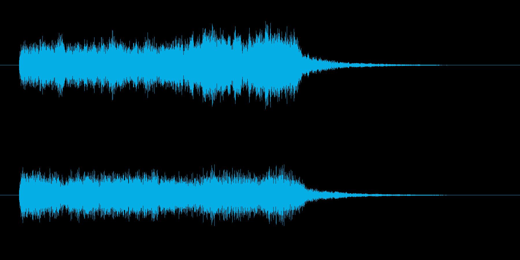 派手なバイオリン ゲームオーバー 残念の再生済みの波形