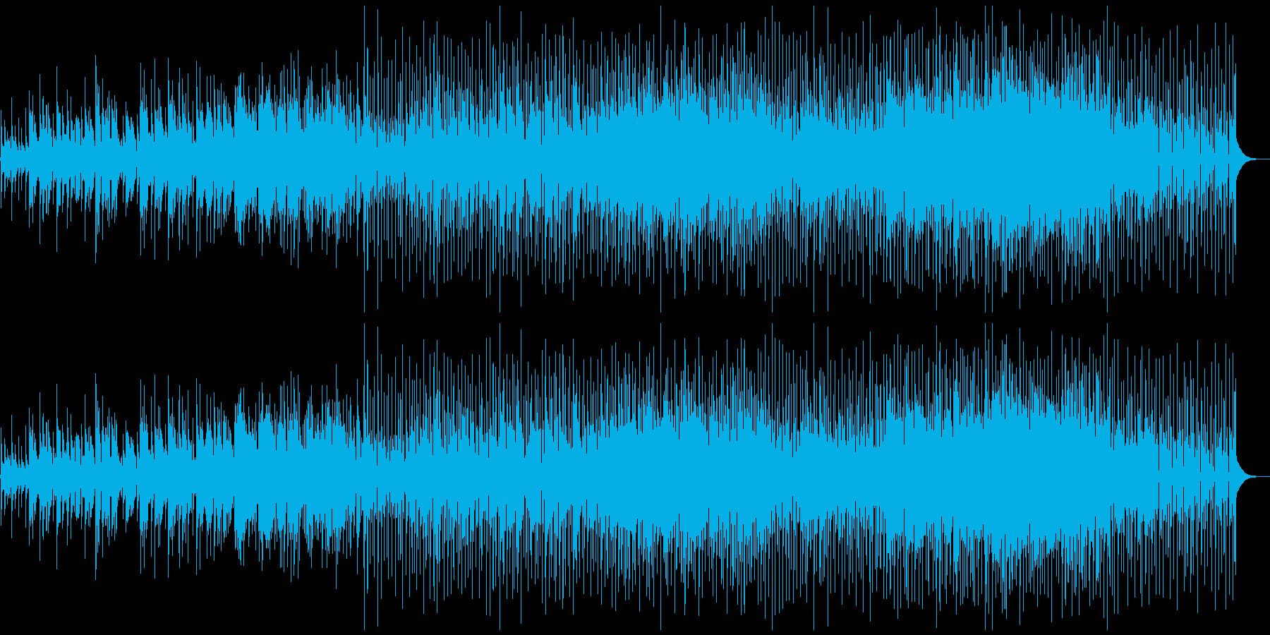 青春映画・アニメの主題歌風-ラブソングの再生済みの波形