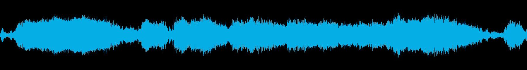 カーピールアウトとクラッシュ、ミデ...の再生済みの波形
