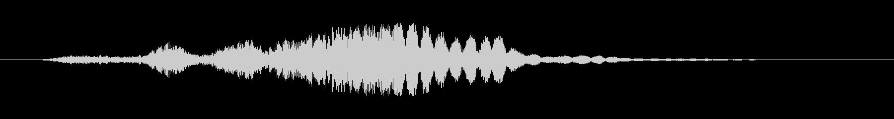 ロードラム風のエアリービルドアップの未再生の波形