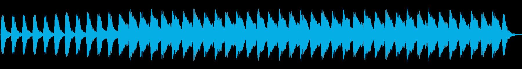 不気味かつ緊迫感のあるホラーアンビエントの再生済みの波形