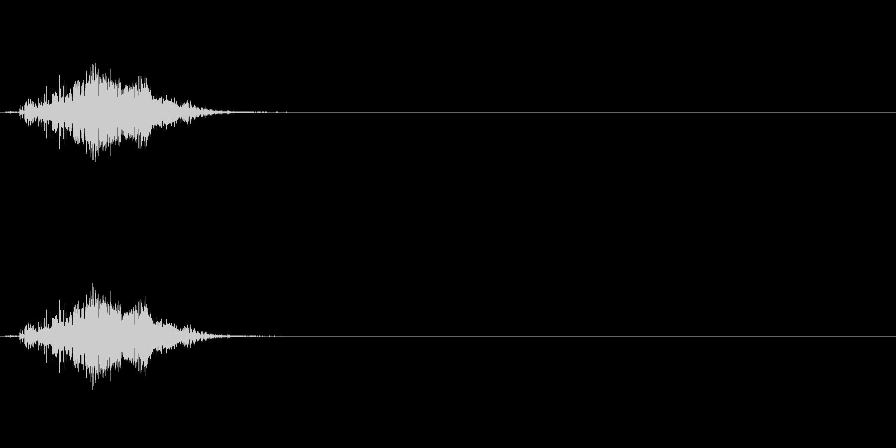 【ジッパー01-1】の未再生の波形