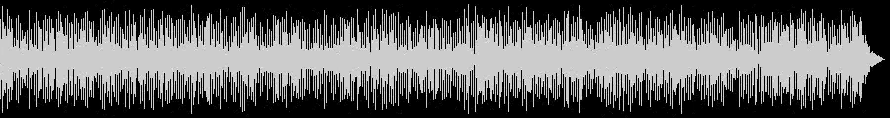 春らしい4ビートジャズBGMの未再生の波形