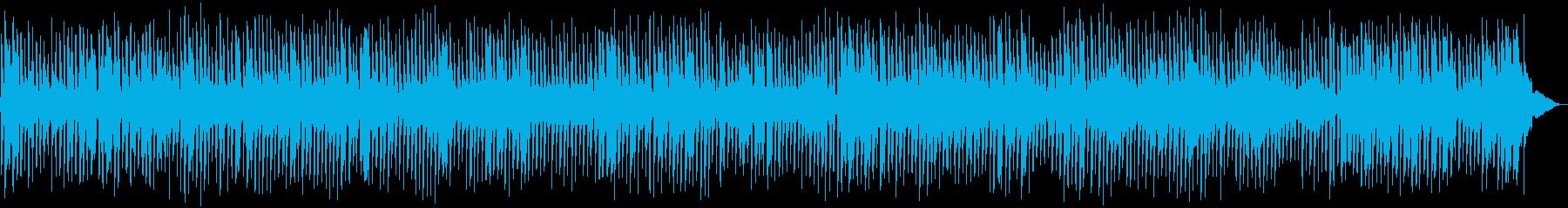 春らしい4ビートジャズBGMの再生済みの波形