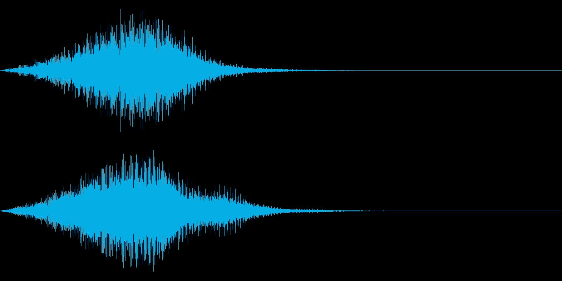 【昭和特撮風】化学反応/ワープの音 2の再生済みの波形