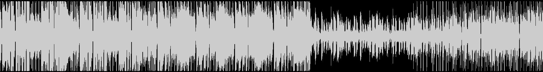 スイーツのようなkawaii系エレクトロの未再生の波形