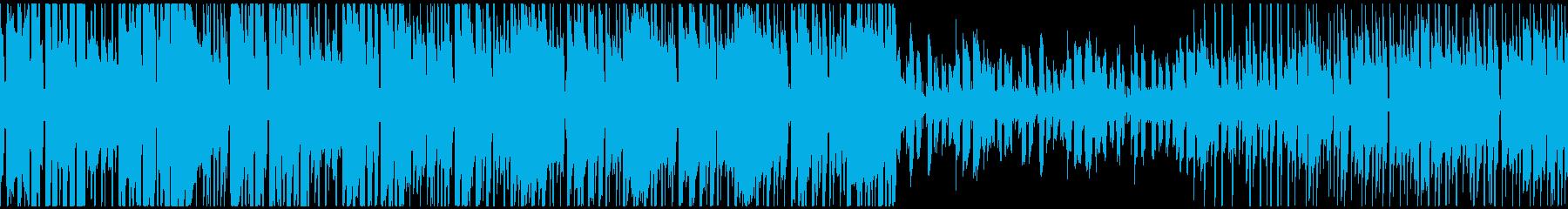 スイーツのようなkawaii系エレクトロの再生済みの波形