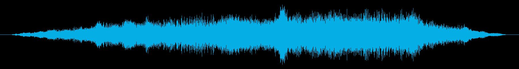 素材 大気の剥離02の再生済みの波形