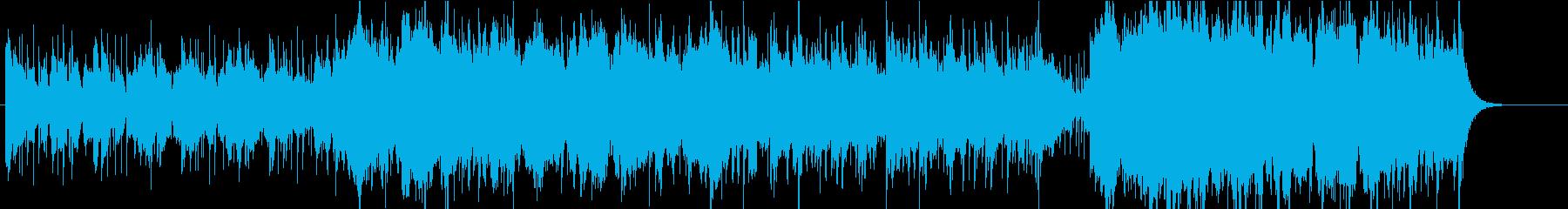 サバンナの夕陽の再生済みの波形