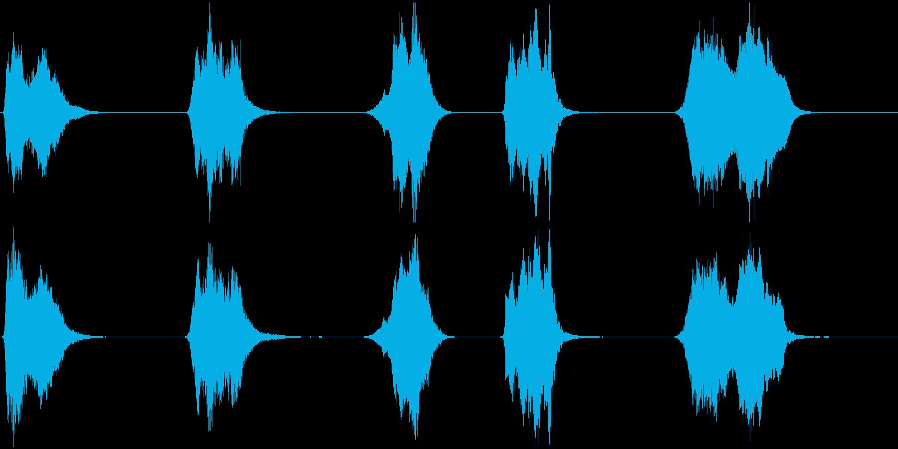 ドライアイス;不気味なハイメタルス...の再生済みの波形