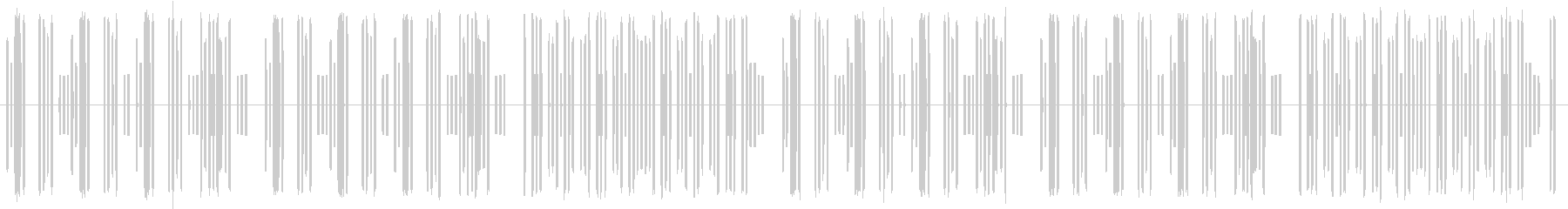 8bit風コミカルBGM2の未再生の波形