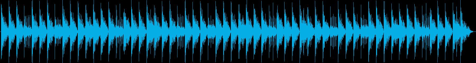 エレクトリックピアノの和音からのサ...の再生済みの波形