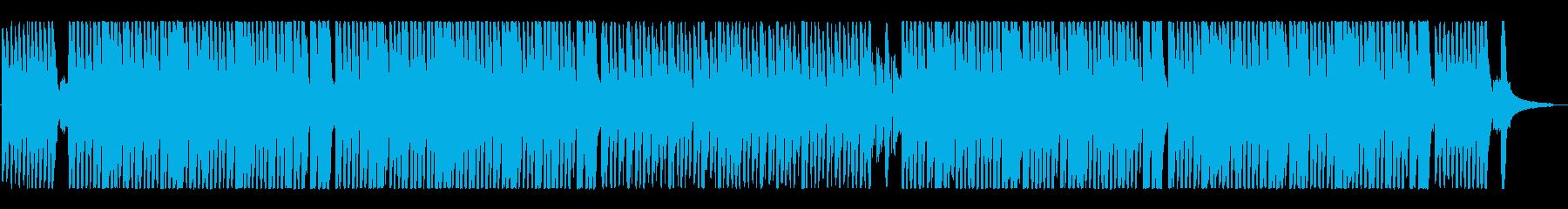 ハッピー楽しく明るいポップなオーケストラの再生済みの波形