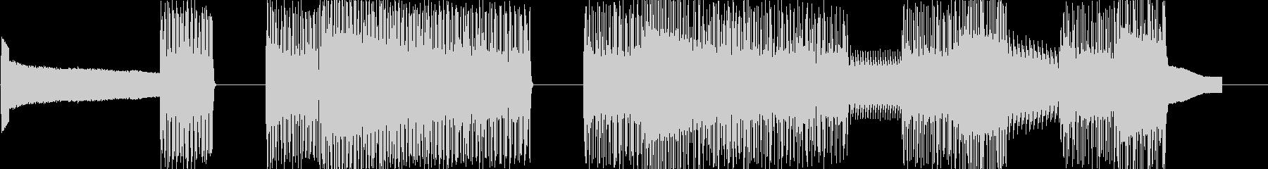 レトロゲームなチップチューンジングル21の未再生の波形