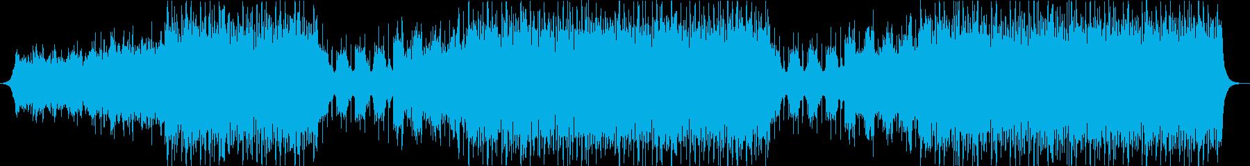 映像・企業VP 感動的EDMオーケストラの再生済みの波形