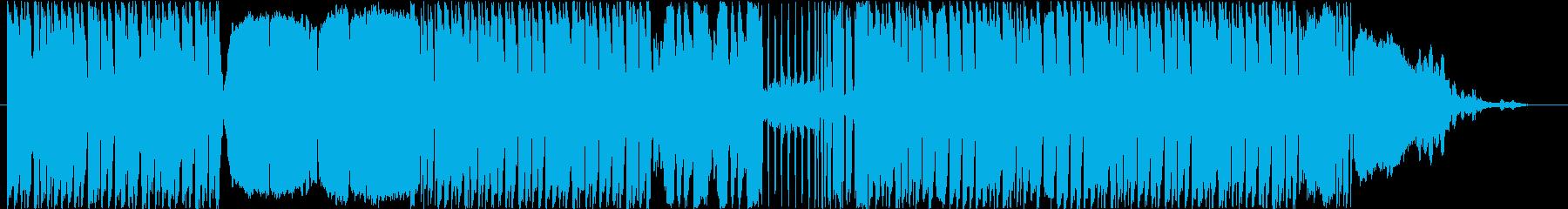 エキセントリックでユーモアのあるBGMの再生済みの波形