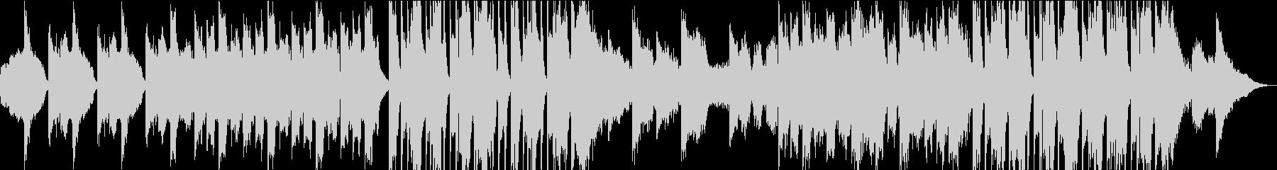 ダークでホラーな曲の未再生の波形