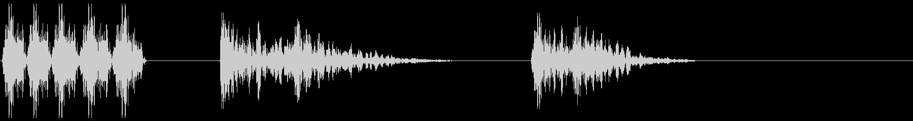 ホイール/コグロック、大規模、スロ...の未再生の波形