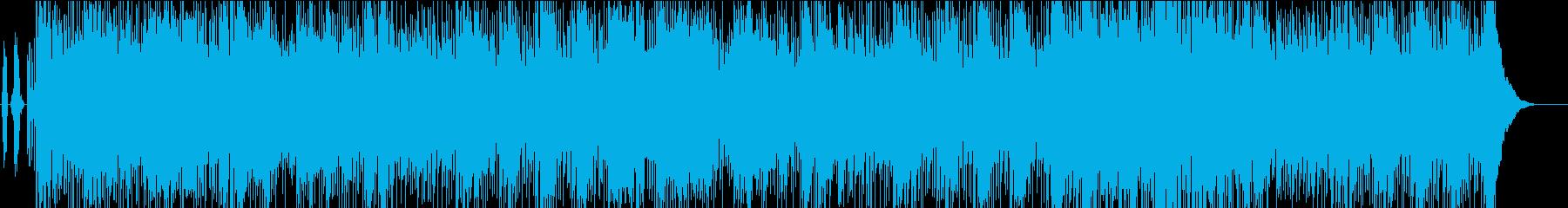孤高のネズミをイメージしたロックの再生済みの波形