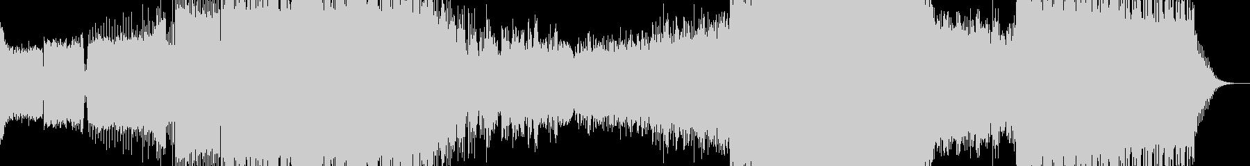 シンプルな展開のUpliftingの未再生の波形